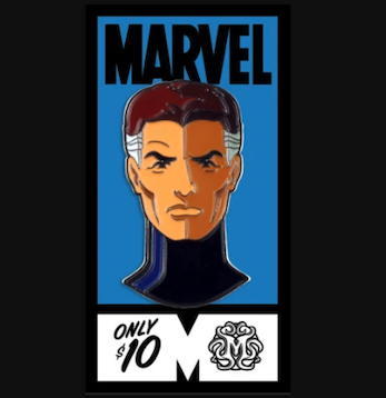 Mr. Fantastic Fantastic Four Mondo Marvel Pin