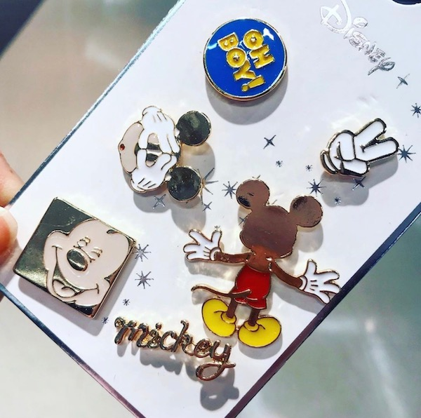 Oh Boy! Mickey Mouse Primark Disney Pin Set