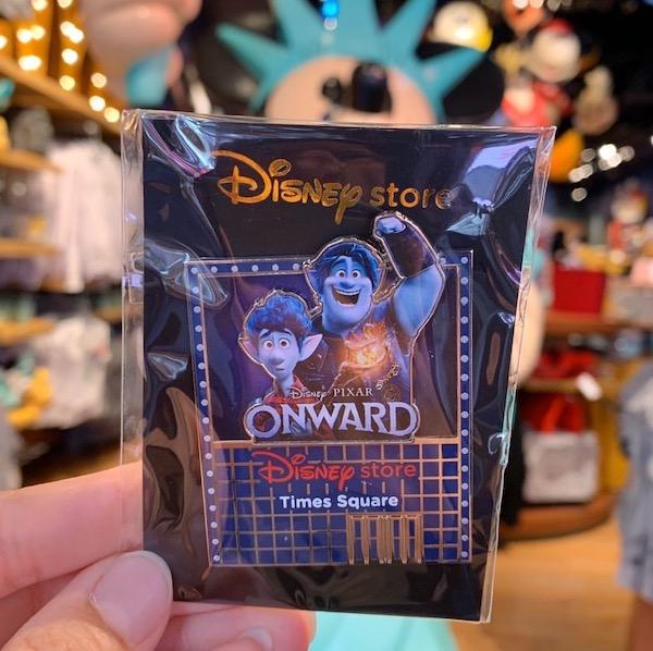 Onward Disney Store Times Square Pin