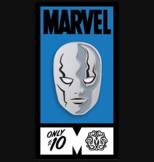 Silver Surfer Fantastic Four Mondo Marvel Pin