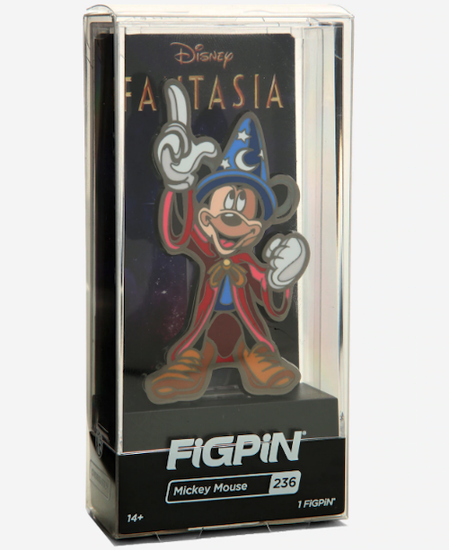Sorcerer Mickey Disney Fantasia FiGPiN