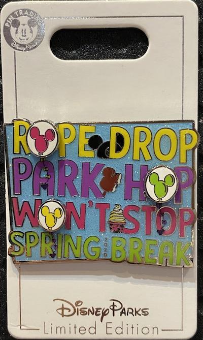 Spring Break 2020 Disney Pin
