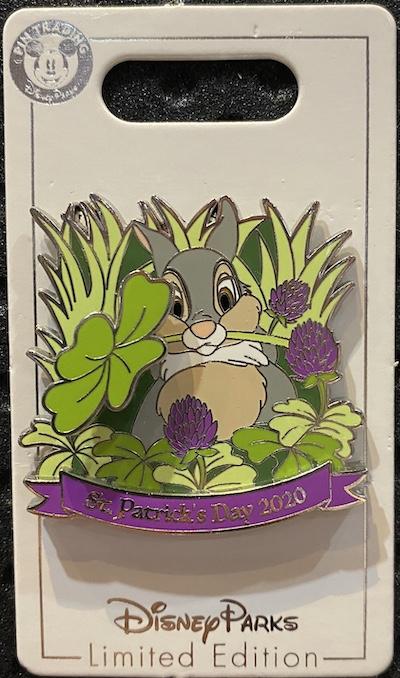 St. Patrick's Day 2020 Disney Pin