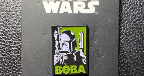 Star Wars Boba Fett Poster Pin