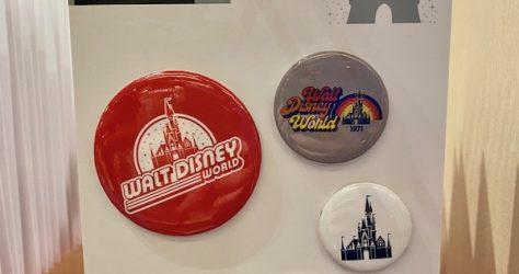 Walt Disney World Retro Button Set