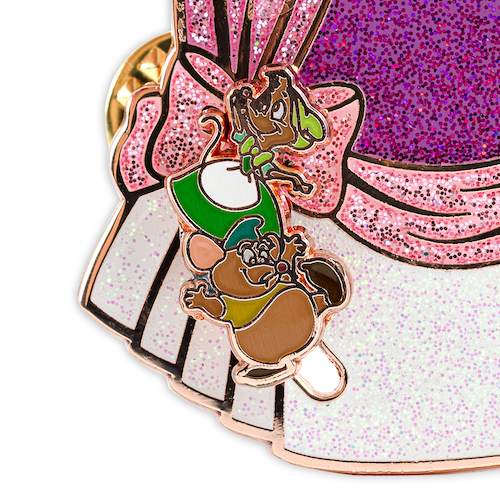 Bottom Mice - Cinderella 70th Anniversary Loungefly Pin