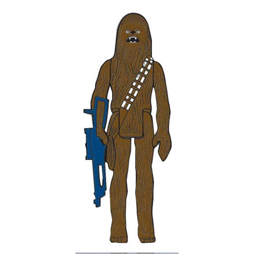 Chewbacca Action Figure Pin
