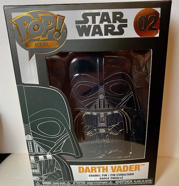 Darth Vader Funko Pop Pin