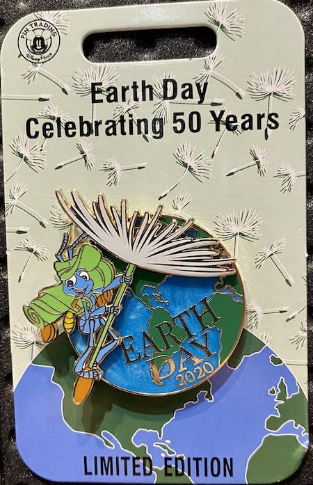 Earth Day 2020 Disney Pin
