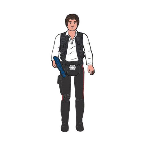 Han Solo Action Figure Pin