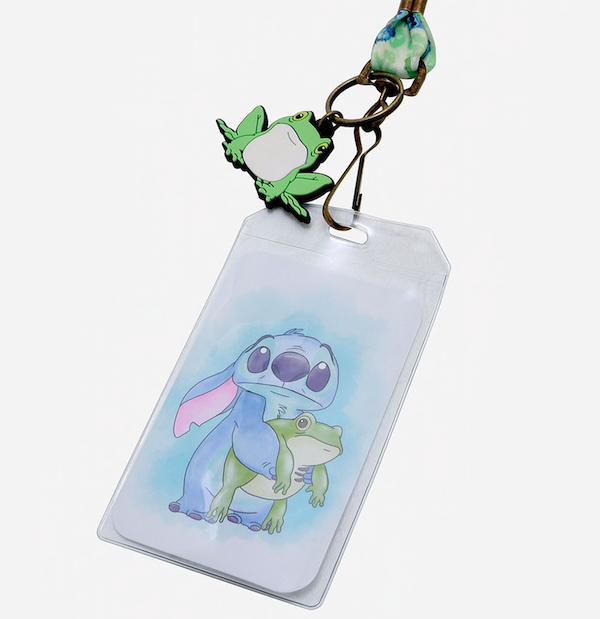 Lilo & Stitch Frog Lanyard