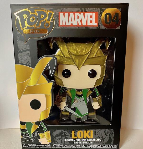 Loki Funko Pop Pin