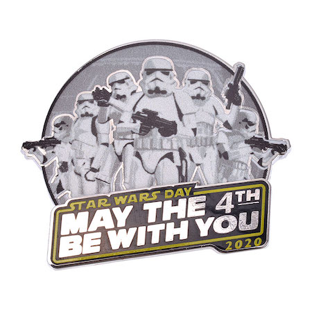 May the 4th Be With You 2020 Disney Pin Closer Look