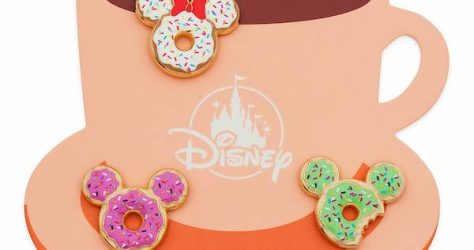 Mickey and Minnie Donut Series 2 Disney Pin Set