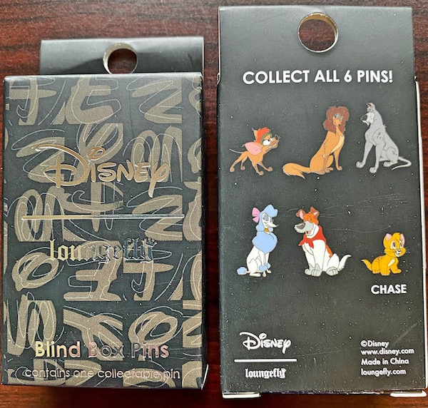 Oliver and Company Blind Box Loungefly Disney Pins