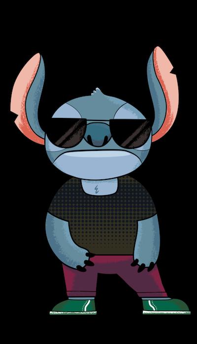 Stitch #387 FiGPiN