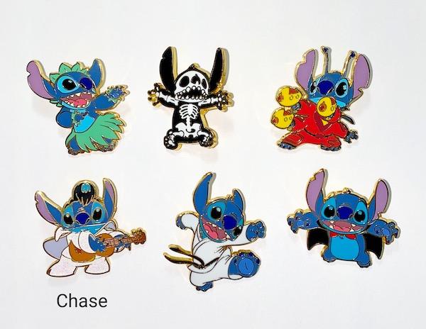 Stitch Loungefly Disney Mystery Pins
