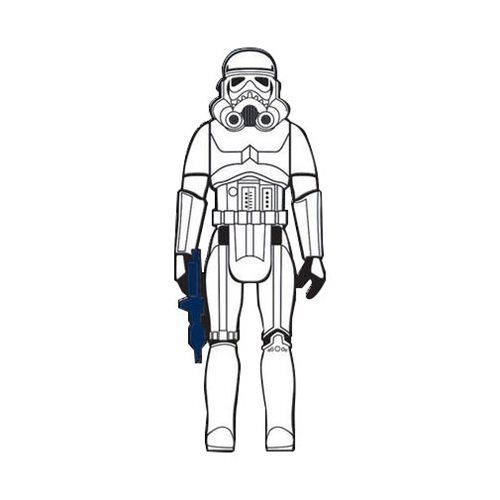 Stormtrooper Action Figure Pin