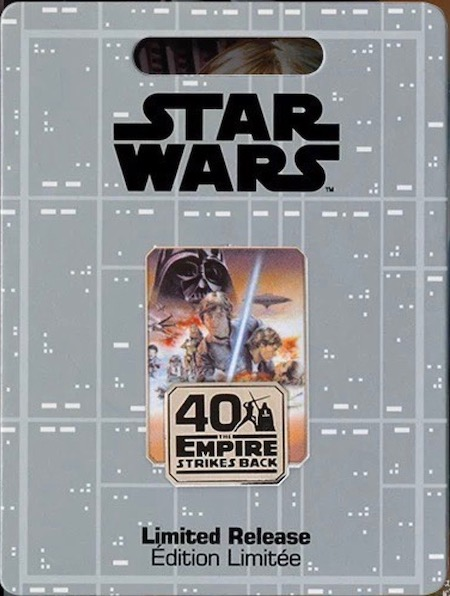 The Empire Strikes Back 40th Anniversary Star Wars Pin