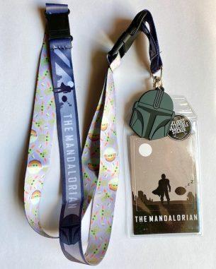 The Mandalorian & The Child Star Wars Lanyard