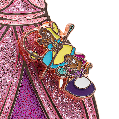 Top Mice - Cinderella 70th Anniversary Loungefly Pin