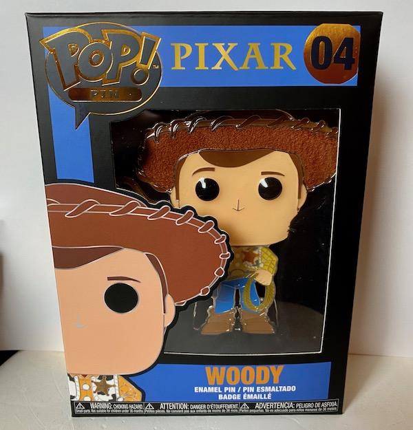 Woody Funko Pop Pin
