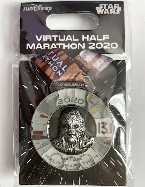 runDisney Star Wars Virtual Half Marathon 2020 Pin