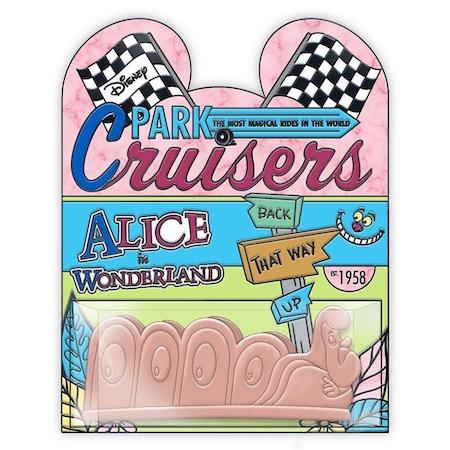 Alice in Wonderland Disney Park Cruisers Pin