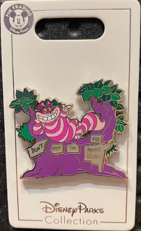 Cheshire Cat Pin – Alice in Wonderland