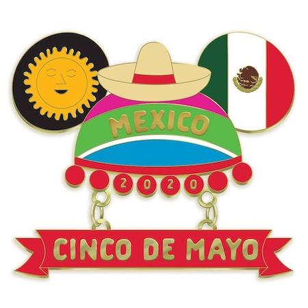 Cinco De Mayo 2020 Disney Pin