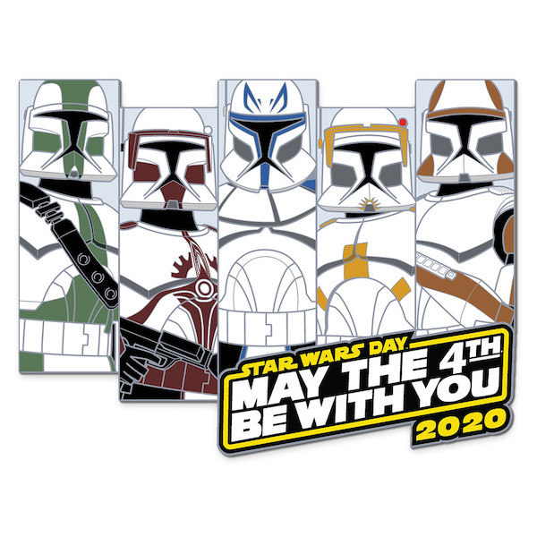 Clone Troopers May the 4th Be With You 2020 Jumbo Pin