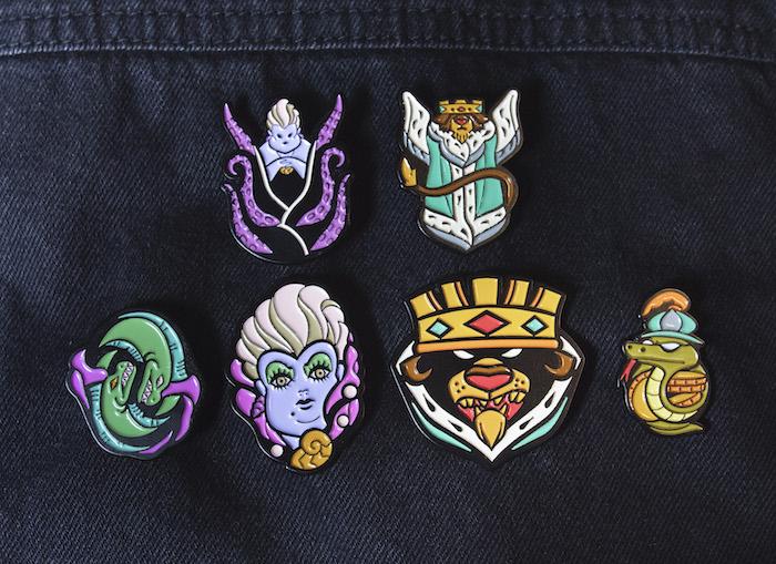 Disney Villains Series 2 Mondo Pins