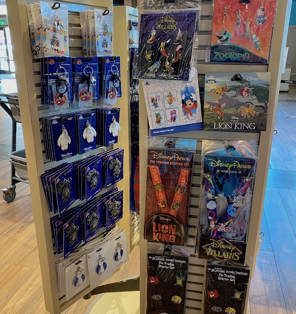 Lanyard Medals and Booster Pin Sets - World of Disney Store