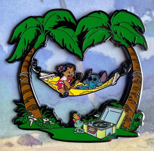 Lilo & Stitch LE 500 Loungefly Disney Pin