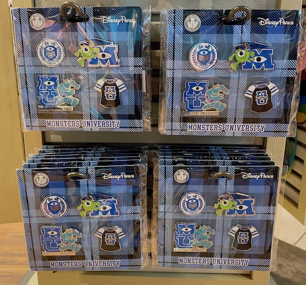 Monsters University Booster Pin Set