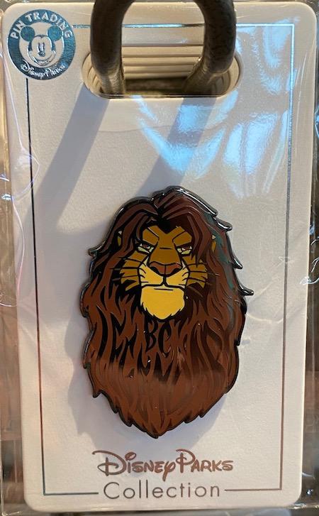 Mufasa Lion King Disney Pin