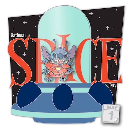 National Space Day Celebrate Today Disney Pin