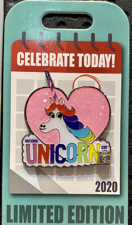 National Unicorn Day Celebrate Today Disney Pin