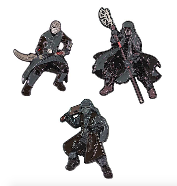 Sith Jet Troopers Star Wars Rise of Skywalker Pins 1
