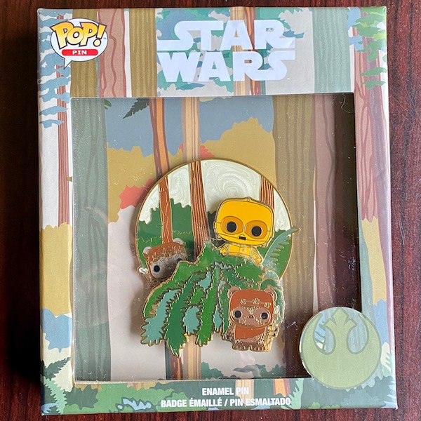 Star Wars May 4th Limited Edition Loungefly Disney Pin