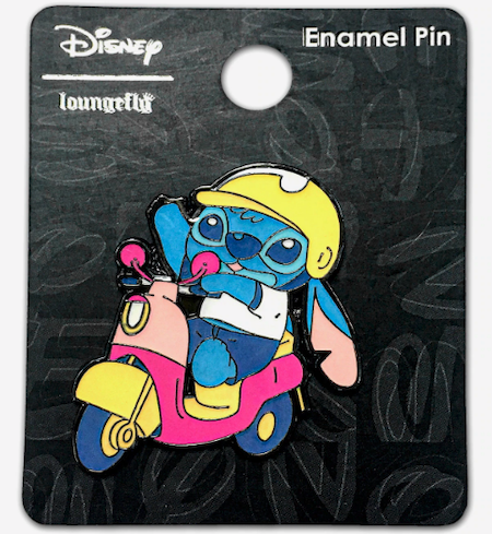 Stitch Scooter Hot Topic Disney Pin