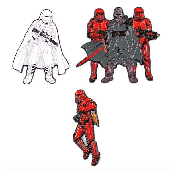 Supreme Leader Kylo Ren Star Wars Rise of Skywalker Pins