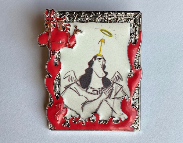 The Emperor's New Groove Disney Backstage Collection Pin