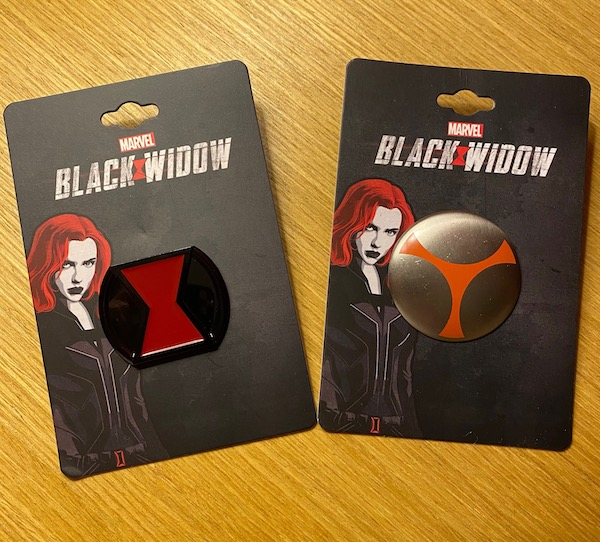The First Marvel Black Widow Pin Releases