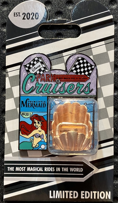 The Little Mermaid Disney Park Cruisers Pin