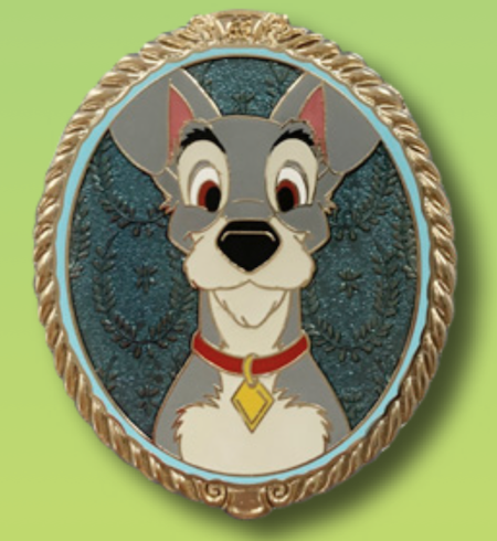 Tramp Portrait Pin - 65th Anniversary
