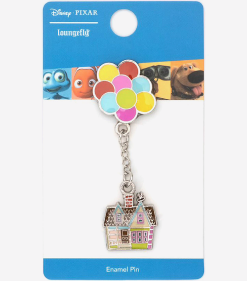 Up Dangling House Loungefly Disney Pin
