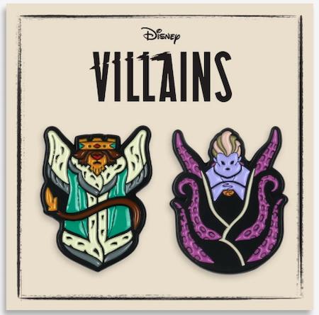 Villains 2-Pin Set Mondo