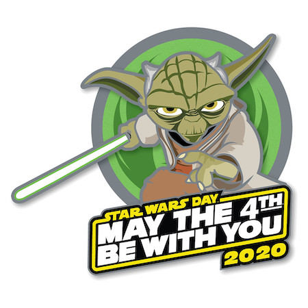 Yoda May the 4th Be With You 2020 Pin