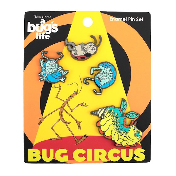 A Bug's Life Loungefly Disney Pin Set